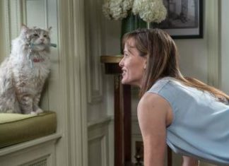 Jennifer Garner and Mr Fuzzypants