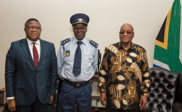 Salute Khehla Sithole as SAfrica's new top cop