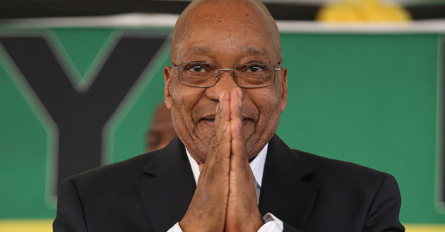 PRAYING FOR A MIRACLE? President Jacob Zuma needs the support of the ANC leader but will he get