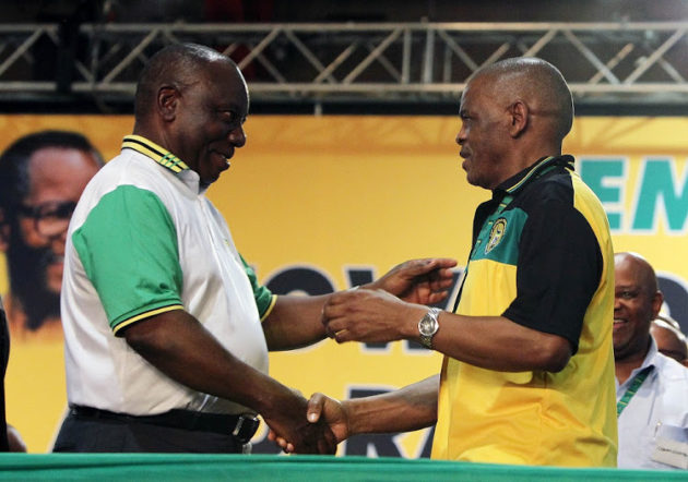 Showdown over SG votes looming at ANC conference